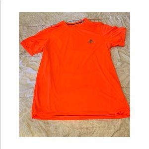 neon orange adidas tee 🧡